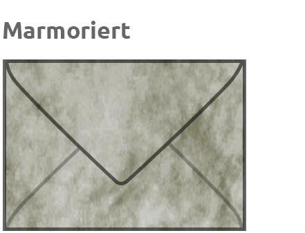 Marmoriert