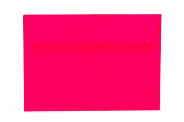 Briefumschläge DIN C6 haftklebend, Neon Pink