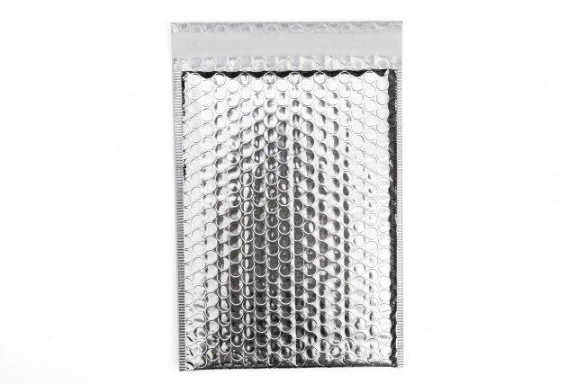 Briefumschläge DIN C5 gepolstert, Silber
