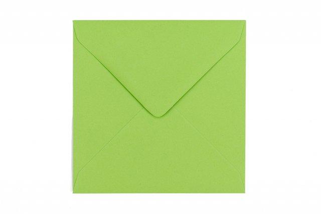 Briefumschläge Quadratisch 130x130 mm, Grün