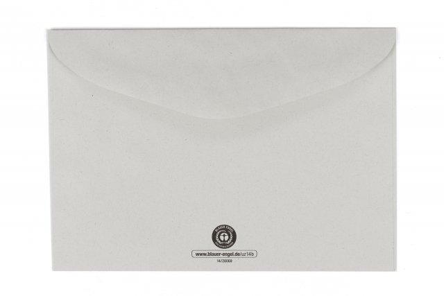 Briefumschläge DIN C6, Recycling Grau