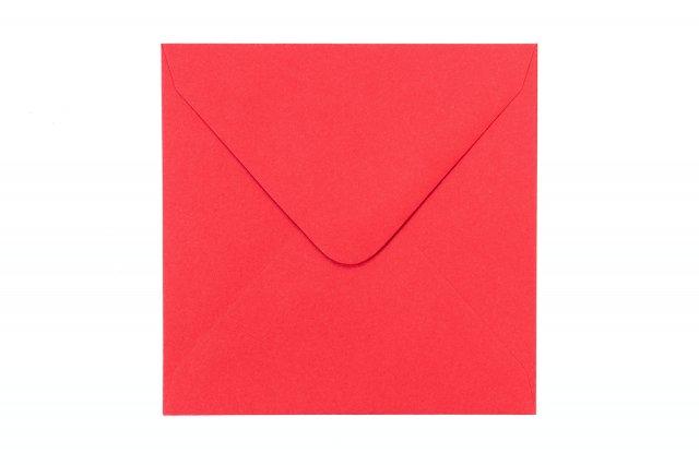 Briefumschläge Quadratisch 110x110 mm, Rot