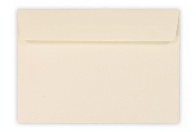 Briefumschläge DIN C6 haftklebend, Creme