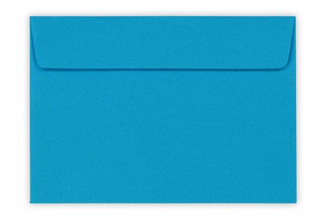 Briefumschläge DIN C6 haftklebend, Blau