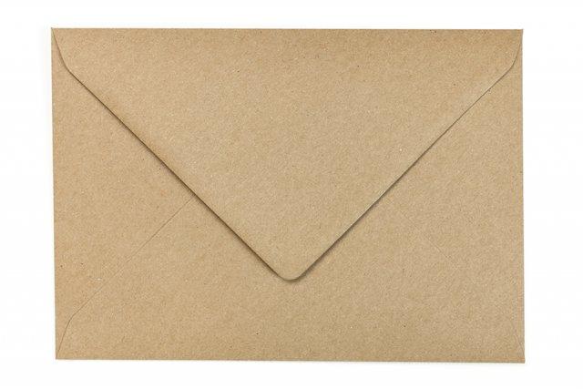 Briefumschläge DIN C5, Kraftpapier