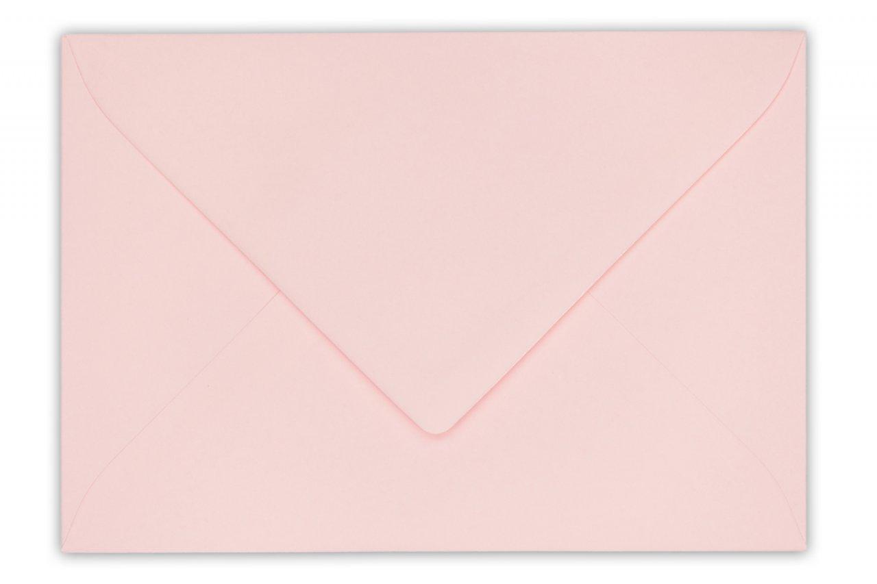 Briefumschläge DIN C6 für Einladungskarten Kuvert selbstklebend Mädchen Rosa